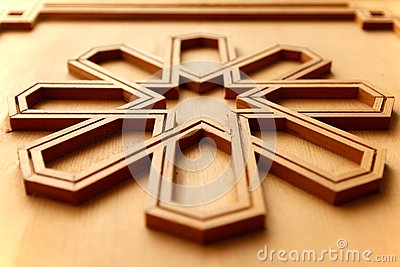 panneau en bois d coup par arabesque marocain photo stock image 56629046. Black Bedroom Furniture Sets. Home Design Ideas
