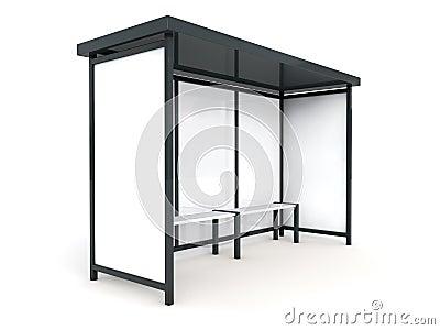 panneau r clame d 39 arr t de bus photo libre de droits image 19194205. Black Bedroom Furniture Sets. Home Design Ideas