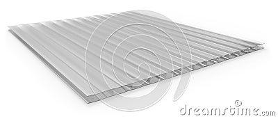 panneau sandwich ondul de polycarbonate images stock. Black Bedroom Furniture Sets. Home Design Ideas