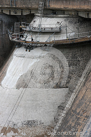 Panneciere Dam Detail