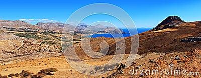 Pano of Crete island