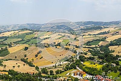 Panorama from Arcevia