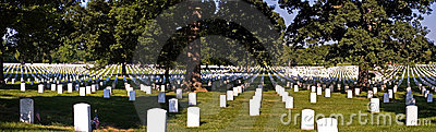 Panorama - Arlington National Cemetery