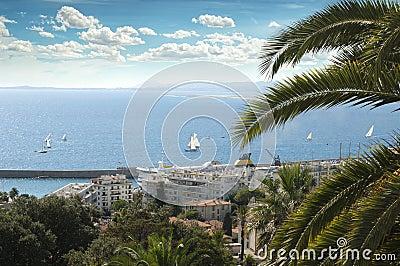 Panorama av Nice