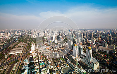 Panorama of Bangkok
