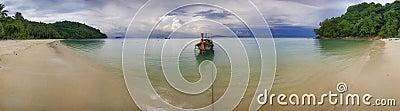 Panorama of the beach-2