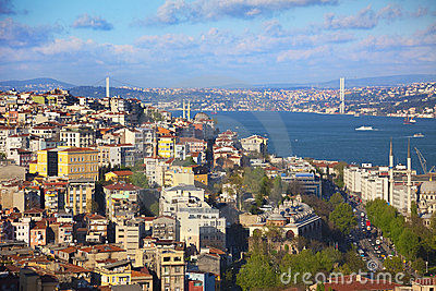 Panorama of Bosphorus  / Istanbul