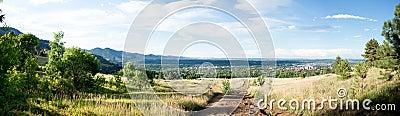 Panorama of Boulder
