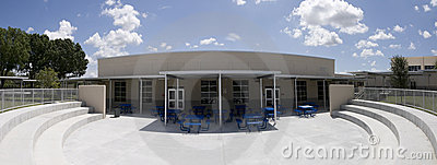 Panorama of Cafeteria