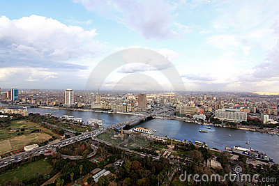 Panorama Cairo Editorial Photo