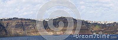 Panorama caldera