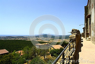 Panorama from Capalbio