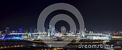 Panorama of the center OF Astana