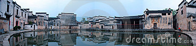 Panorama of a Chinese Village