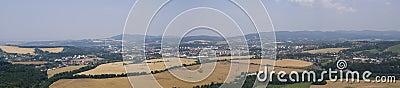 Panorama city Valasske Mezirici