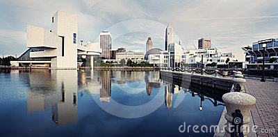 Panorama of Cleveland