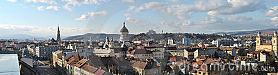 Panorama of Cluj 1