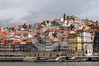 Ribeira do Porto Editorial Image