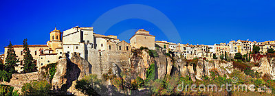 Panorama of Cuenca - Spain
