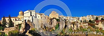 Panorama of Cuenca - Spain