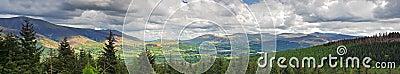 Panorama d horizontal