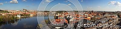 Panorama de Prague, République Tchèque