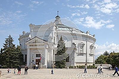 Panorama of defensive of Sevastopol Editorial Image