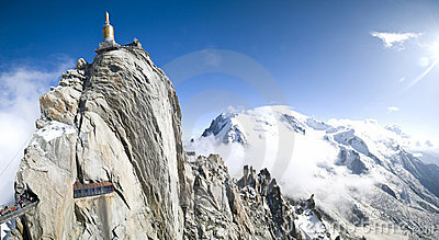 Panorama di Mont Blanc