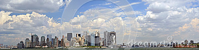 Panorama do Lower Manhattan