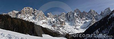 Panorama of Dolomiti - Pale di San Martino