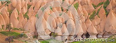 Panorama of Fairy Chimneys