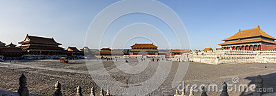Panorama of Forbidden City