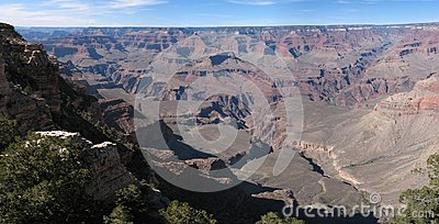 A Panorama of the Grand Canyon, South Rim