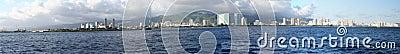 Panorama of Honolulu/Waikiki