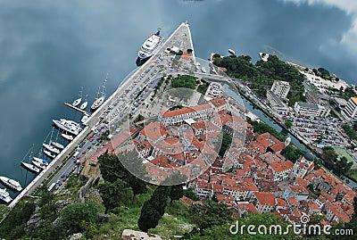 Panorama of Kotor