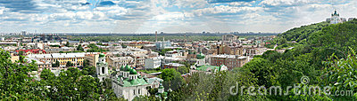 Panorama of the Kyiv