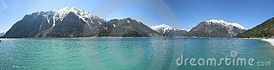 Panorama lake achensee