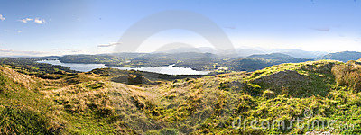 Panorama Lake district