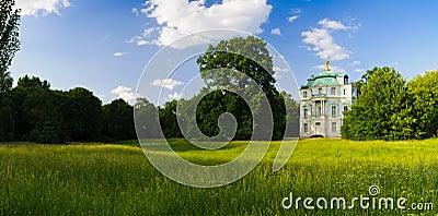 Panorama landscape charlottenburg garden