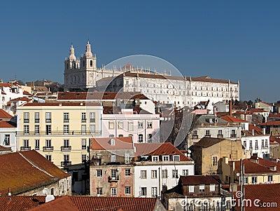 Panorama of Lisbon - Alfama
