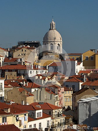 Panorama of Lisbon - Alfama