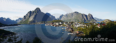 Panorama of Lofoten
