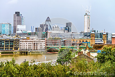 Panorama of London