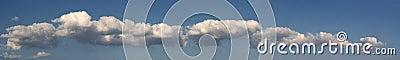 Panorama - long cloud