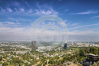 Panorama of Los Angeles County