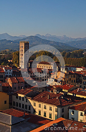 Panorama of Lucca 2-Italy