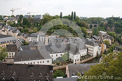 Panorama of Luxembourg