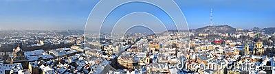 Panorama of the Lviv