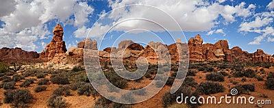 Panorama Moab Utah
