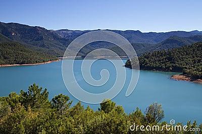 Panorama of National Park Sierra Cazorla
